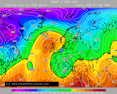 easterly cold