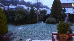 Reigate wet snow