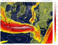 active jetstream picks up low and deepens it