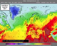 Europe heats up