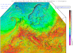 surface convergence (reds)
