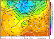 GFS LOW edges to UK