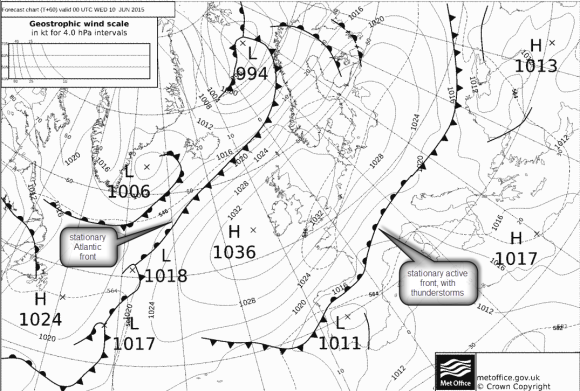 HIGH pressure UK early June