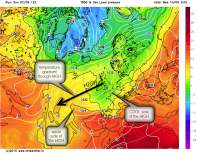 850hPa HIGH temperature gradient