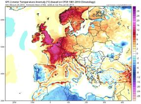 surface heatwave