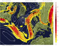 meridional jetstream moves north
