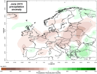 june 2015 precipitation anomaly