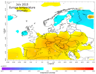 Europe July heatwave