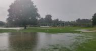 Priory Park flood