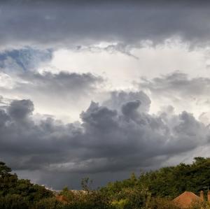 cumulonimbus showers today