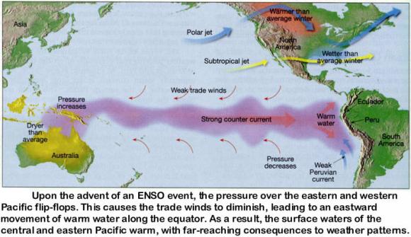 El Nino warm phase