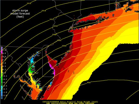 storm surge New Jersey coast