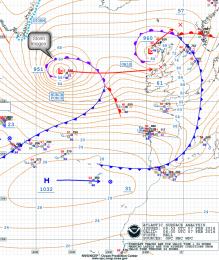 NOAA chart Storm Imogen