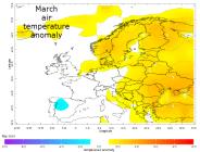 Average temp March