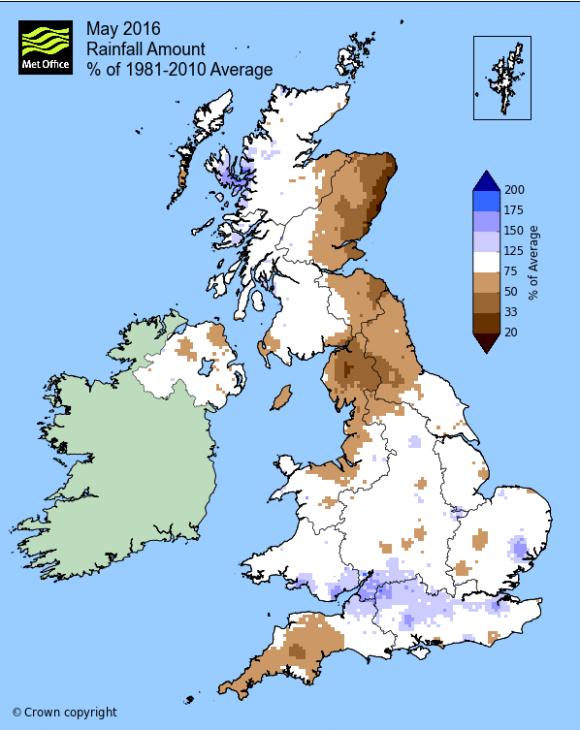 Rainfall anomaly May 2016